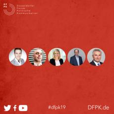 Die Gäste der Podiumsdiskussion 2019