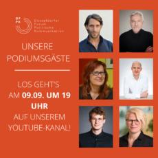 Podiumsdiskussion 2021: Vorstellung der Gäst:innen